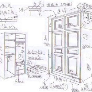 傢俬訂造的施工圖
