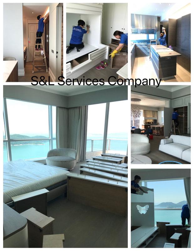 1200呎家居裝修後清潔